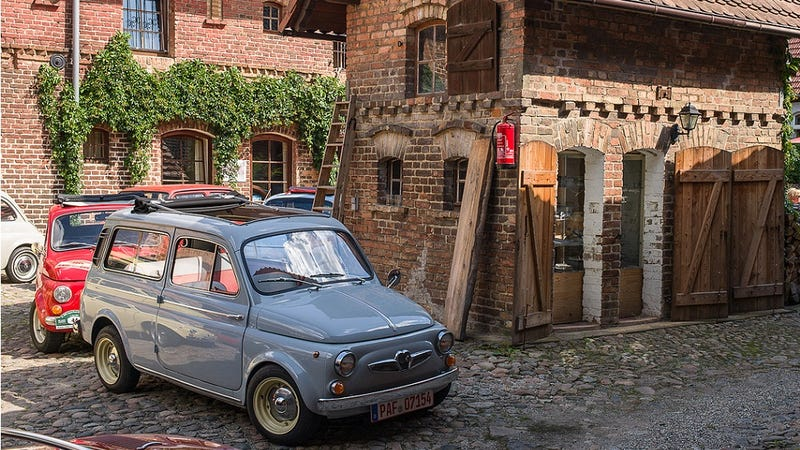 Illustration for article titled The Steyr-Puch 500 Is A Better Cinquecento