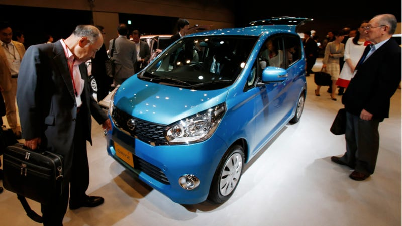 Illustration for article titled Japan Didn't Entirely Fall On Its Ass, Because Kei Cars