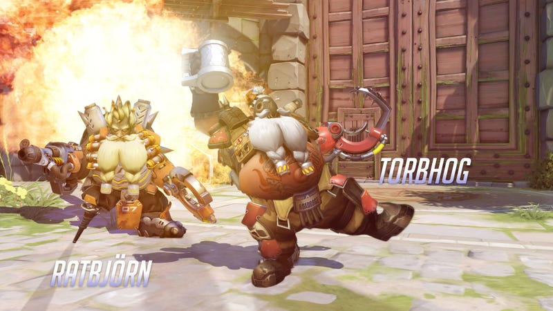 Illustration for article titled An Overwatch Fan Is Remaking Every Hero In Torbjorn's Image