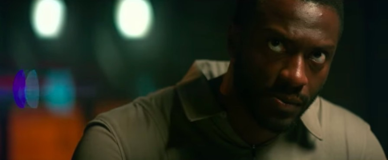 Aldis Hodge finds himself on a strange ship in a strange future.