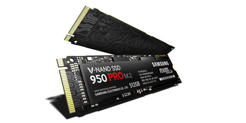 Illustration for article titled Samsung's Fastest SSD Reads at a Face-Melting 2,500 MBps