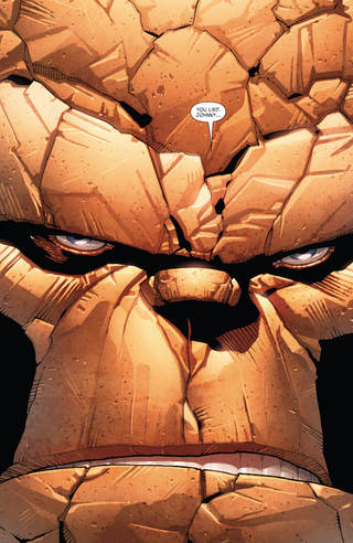 Illustration for article titled Ben Grimm Goes Berserk In A Powerful 'Fantastic Four #7'