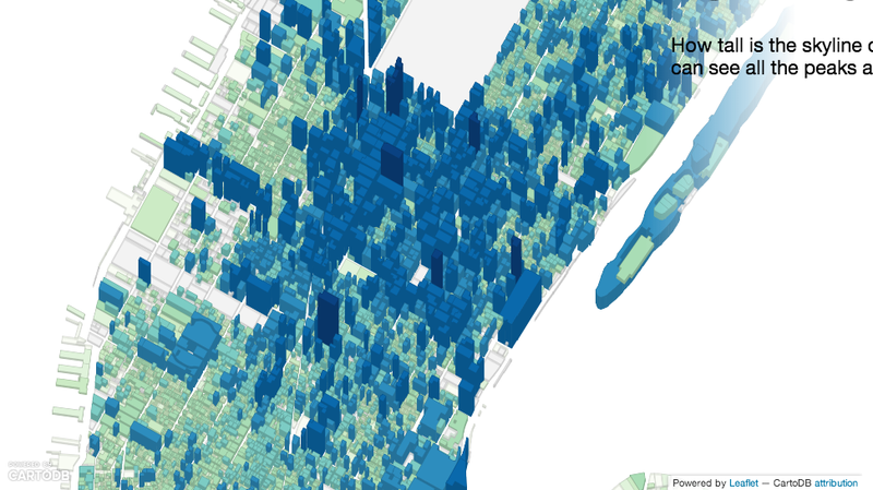 Illustration for article titled See NYC From a New Angle With These Awesomely Nerdy Maps
