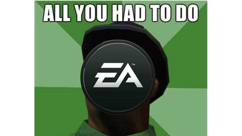 Illustration for article titled All You Had to do was not call it that, EA!