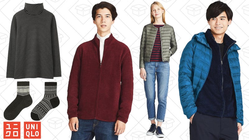 Free shipping on all orders at Uniqlo