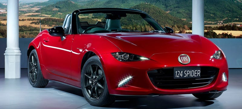 Illustration for article titled Confirmed: Fiat's Miata-Based Roadster Will Be Called 124 Spider
