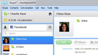 Illustration for article titled Skype 5.5 Beta Rolls in Facebook Contacts, Adds Facebook Chat