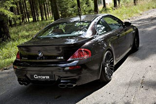 Illustration for article titled G-Power's New (Insert Superlative Here) BMW M6