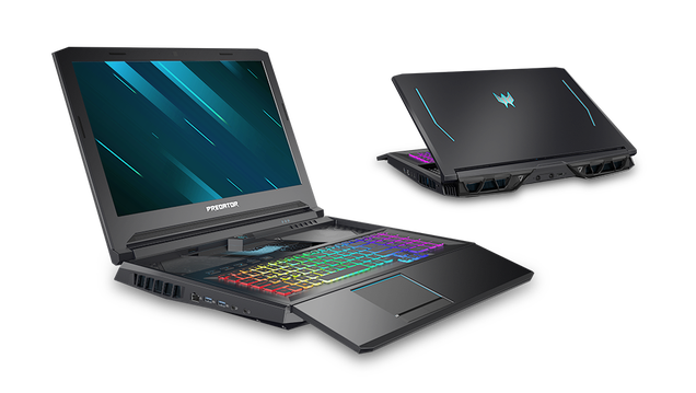 One of the Weirdest Gaming Laptops Just Got a Total Upgrade
