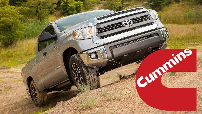 2015 Nissan Titan And 2016 Toyota Tundra May Share Cummins
