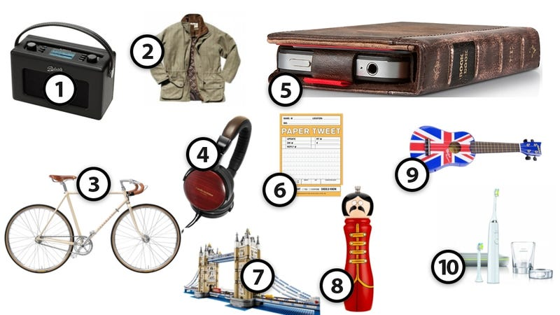 Illustration for article titled Smashingly Brilliant Gifts for the Anglophile Gadgeteer