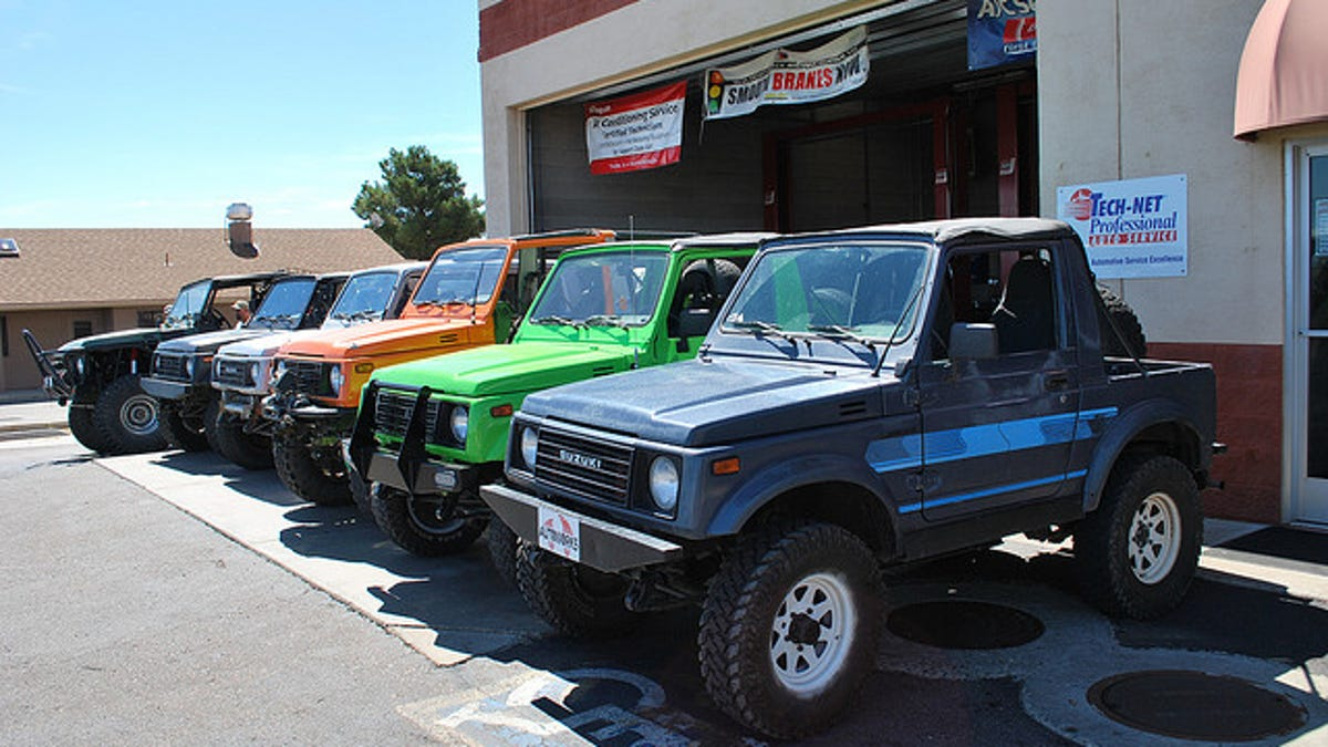This Is What Makes A Vehicle Unstoppable Off Road Four Doors Of Suzuki Samurai