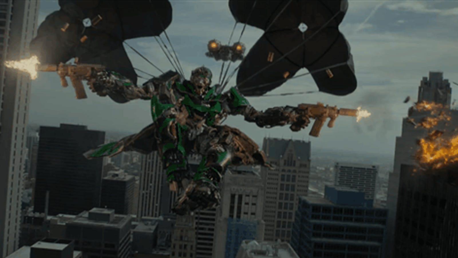 Este es el primer tráiler de la nueva película de Transformers