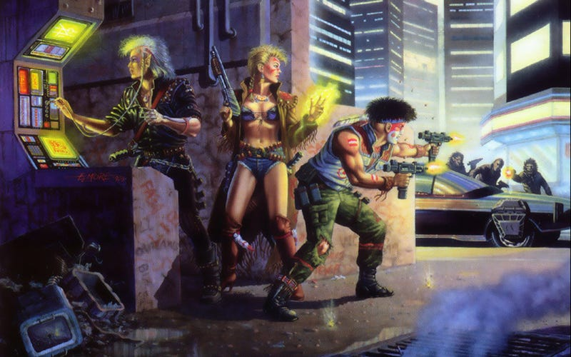 Illustration for article titled The Case for a New Shadowrun Sandbox / MMORPG