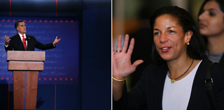 Mitt Romney (Getty Images); Susan Rice (Getty Images)