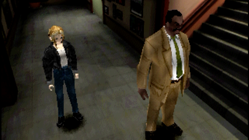 Illustration for article titled A Look Back At Parasite Eve's Great Dialogue