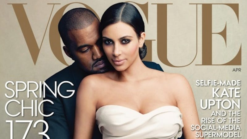 Illustration for article titled Hi, Haters: The Kim and Kanye Vogue Cover Is Selling Great, Actually