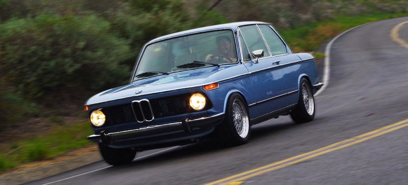 Illustration for article titled Driving A Perfectly Restored BMW 2002 Is Like Living In A Dream