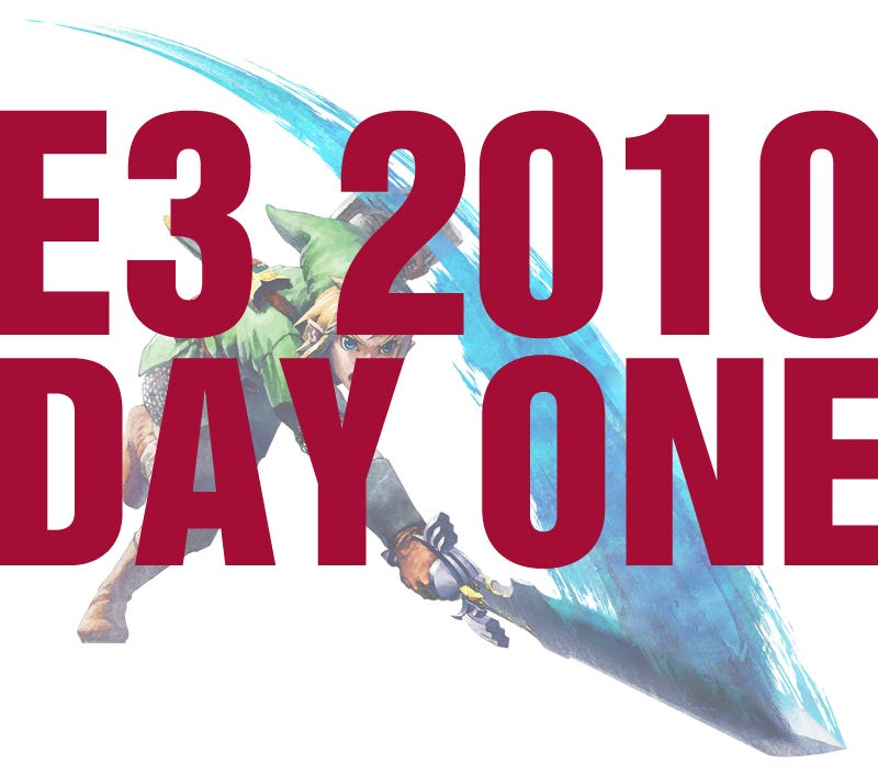 Illustration for article titled E3 Recap: Day One
