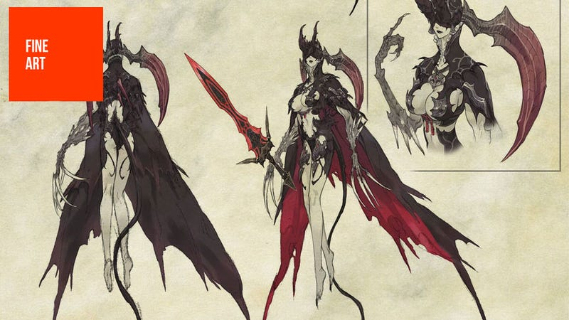 Illustration for article titled At Least Final Fantasy XIV's Art Isn't Drowning in Buttons