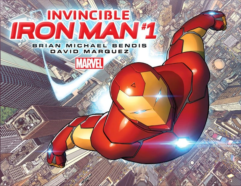 """Illustration for article titled Bendis Set to Write """"Iron Man"""""""