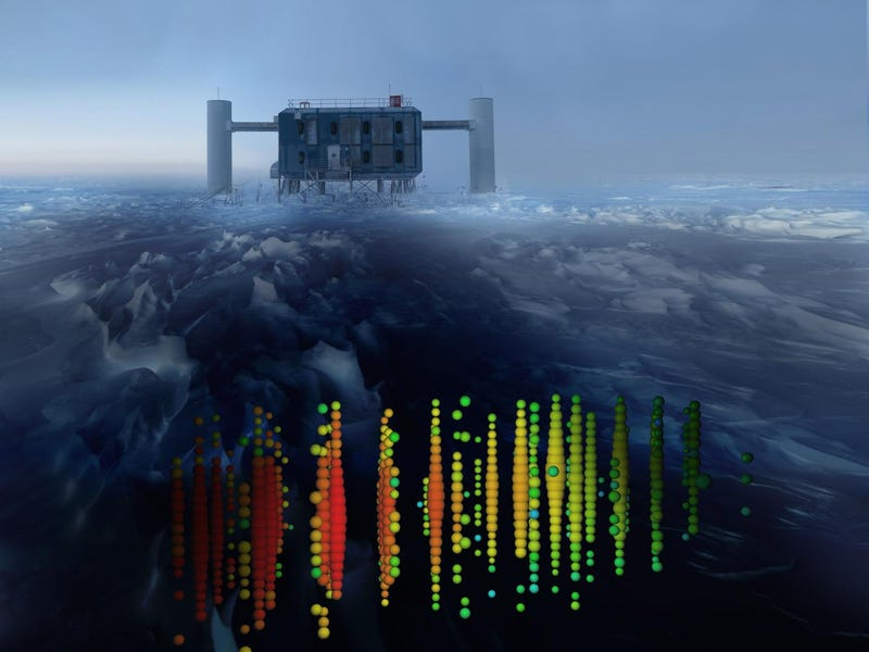 Illustration for article titled Scientists Confirm the Existence of Cosmic Neutrinos