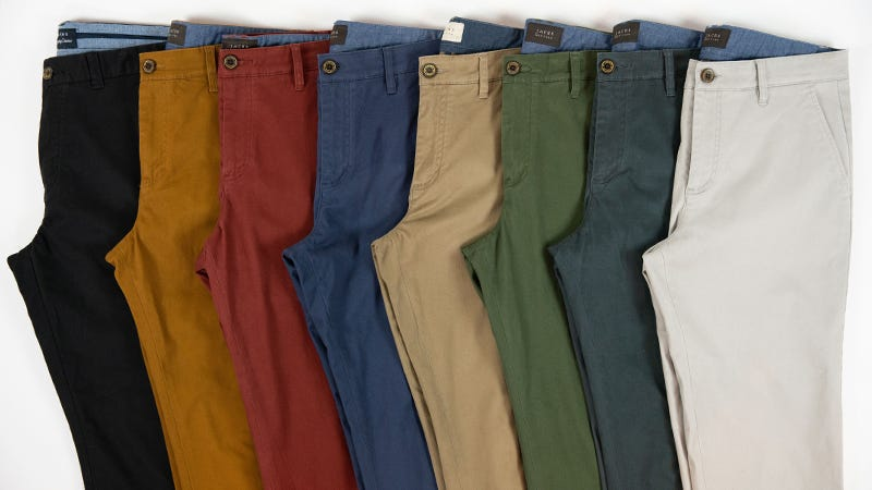 Illustration for article titled Pick Up Three Stretch Cotton Chinos From Jachs For $100 + Free Shipping (60% Off)