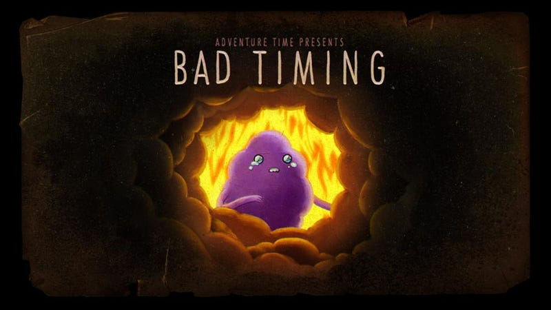 """Illustration for article titled Adventure Time Recap - """"Bad Timing"""""""