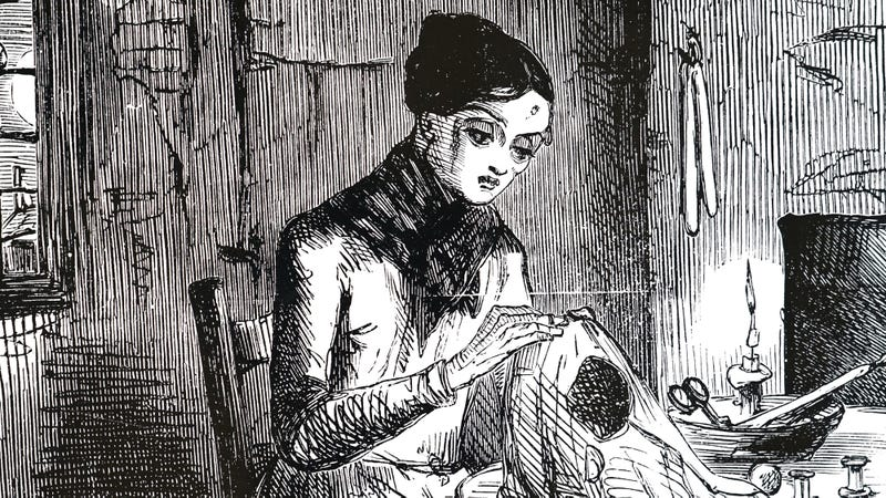 Illustration for article titled Report: This To Be History's Last-Ever Reference To 19th-Century Seamstress Florence Shadewell