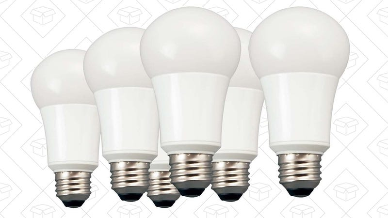 6-Pack TCP Soft White LED Bulbs, $18