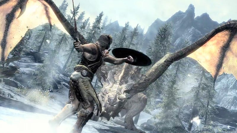 Illustration for article titled 'Dawnguard' Trademark Filed, May Point to Skyrim Expansion