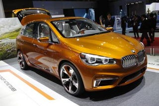 Illustration for article titled BMW Boss Confirms 11 FWD Models
