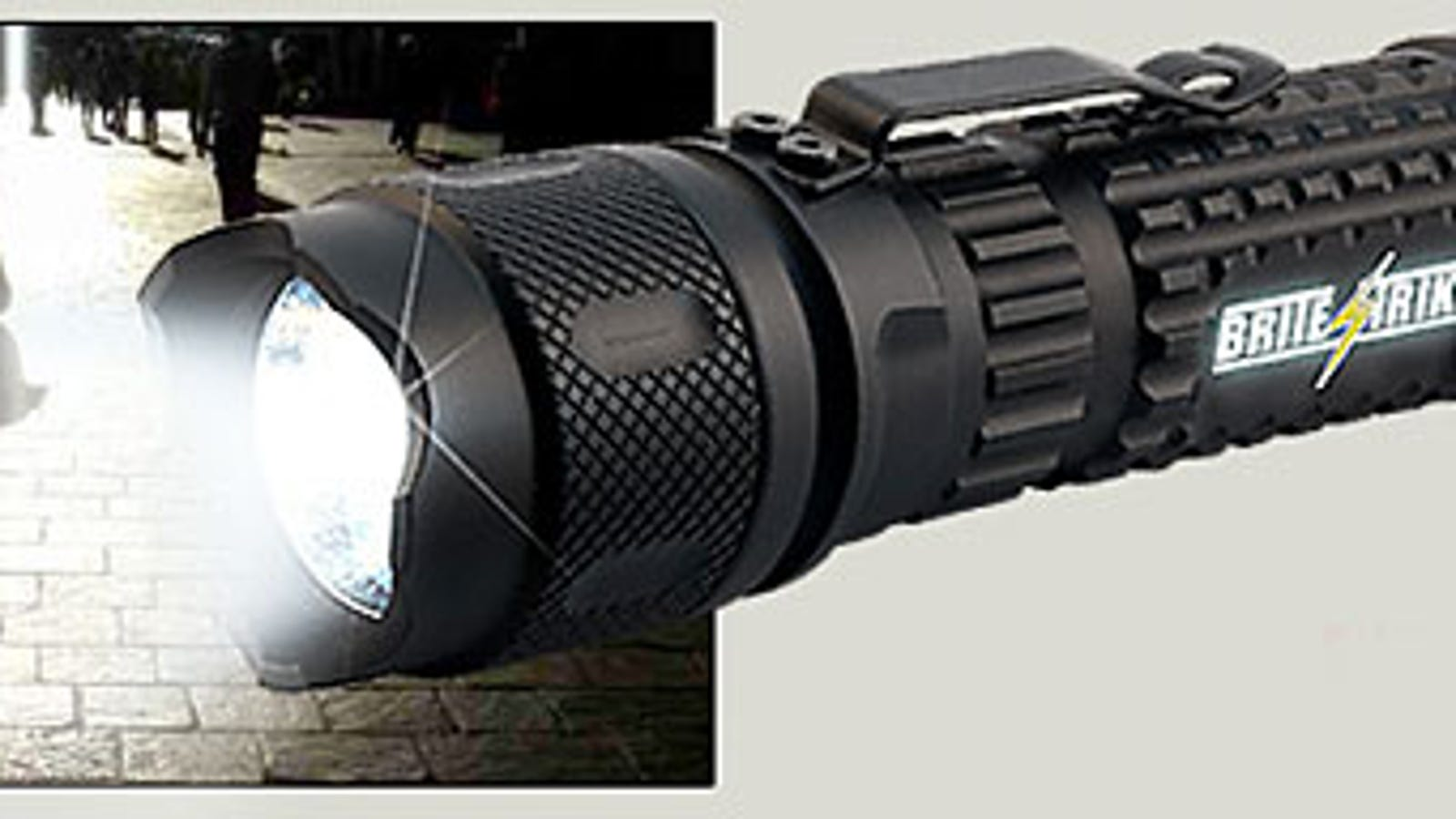 Brite Strike Protector Is One Badass Flashlight Single Cell Led