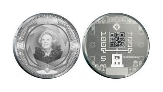 Illustration for article titled The Dutch are Making QR-Coded Coins. Seriously.