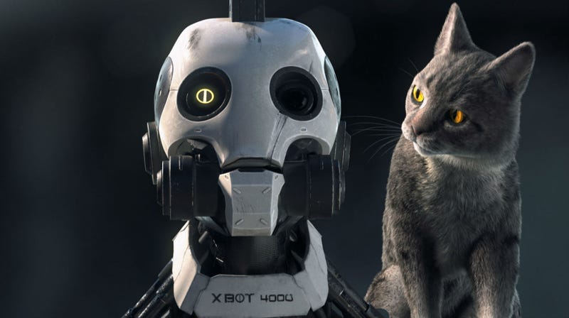 Is this General Grievous with a cat?