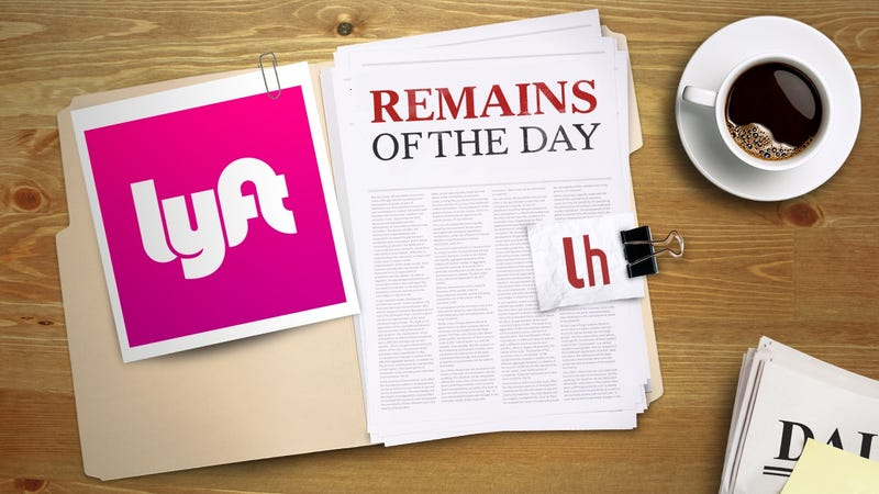 Illustration for article titled Remains of the Day: Lyft to Offer Luxury Ride Service