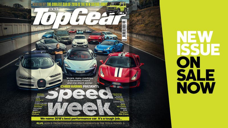 Illustration for article titled Top Gear is doing Speed Week and WHERE DID THEY GET THE CHIRON?!