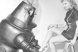 Illustration for article titled Robby The Robot Makes Comeback In Forbidden Planet Remake