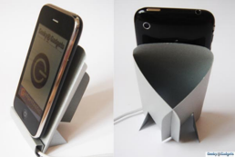 Illustration for article titled Print Out a Cardboard iPhone Dock