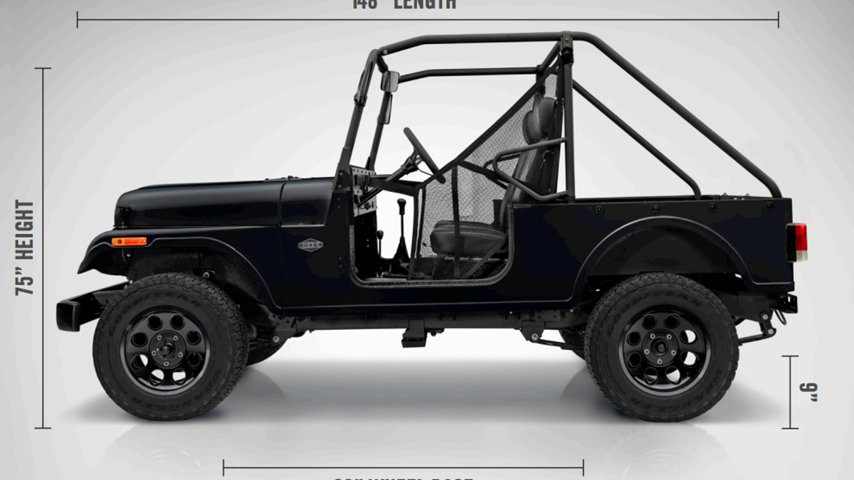 Heres How The Mahindra Roxor Compares To A 1948 Willys Cj 2a Jeep 1941 Pickup Trucks Off Road
