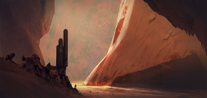 Illustration for article titled Kim Petersen's Jaw-Dropping Images Take Us To New Worlds