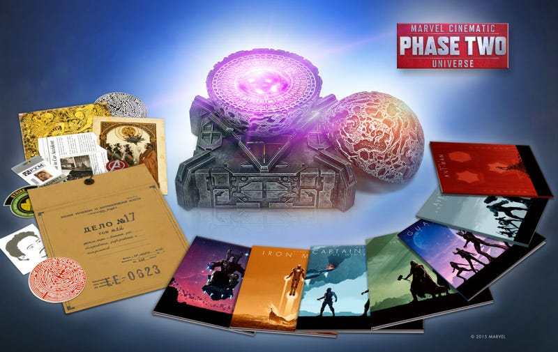 Illustration for article titled The Marvel Cinematic Universe Phase 2 Box Set Is a Thing of Pure Beauty