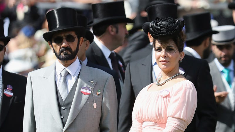 Dubai's Princess Haya Applied For a Protective Order Designed For