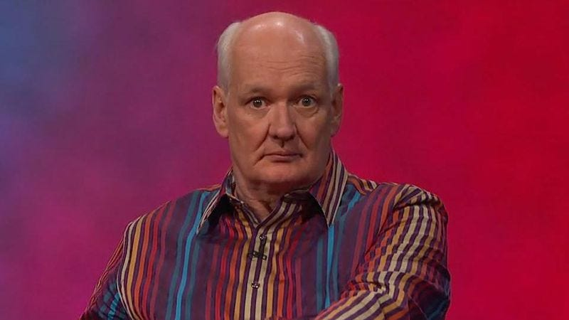 Illustration for article titled Whose Line's Colin Mochrie on dreaming of Jeannie and chicken revenge