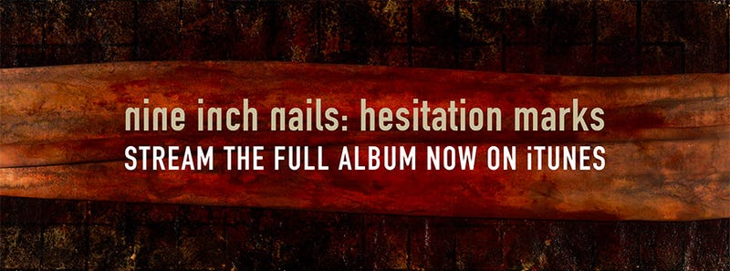 """Illustration for article titled Nine Inch Nails Hesitation Marks is """"out"""""""