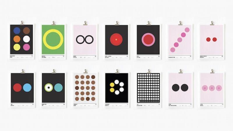 Designer Creates Minimalist Movie Posters Using Only Circles - Minimal movie posters nick barclay