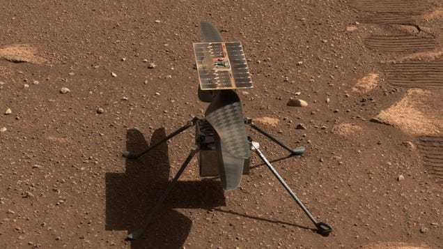 Third Date's the Charm (Maybe): NASA Reschedules First Ingenuity Flight on Mars for Monday