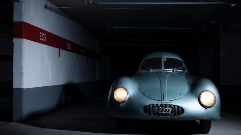 El mítico y único Porsche Type 64 finalmente no se ha vendido debido a un extraño error en la subasta