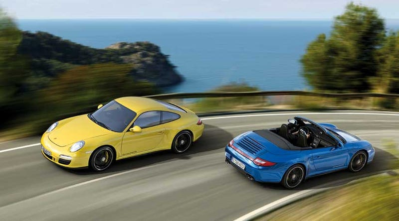 Illustration for article titled Porsche 911 Carrera 4 GTS: Photos