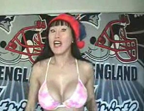 Illustration for article titled Patriots Fans Are Deranged, Buxom
